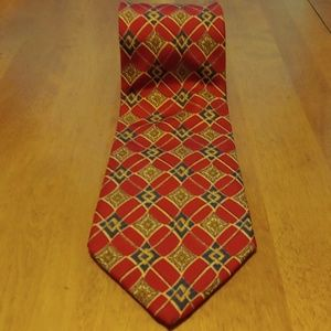 Brooks Bothers. Makers Red Silk Tie